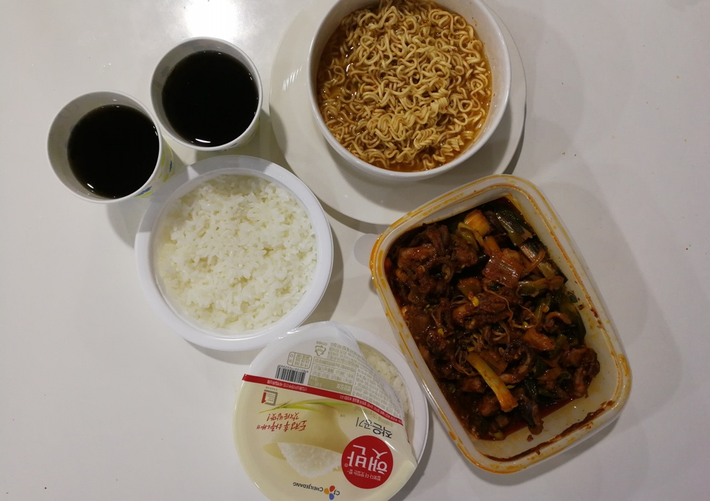 makan di Korea