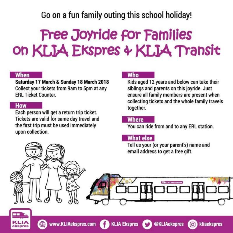 KLIA Transit dan KLIA Ekspres percuma