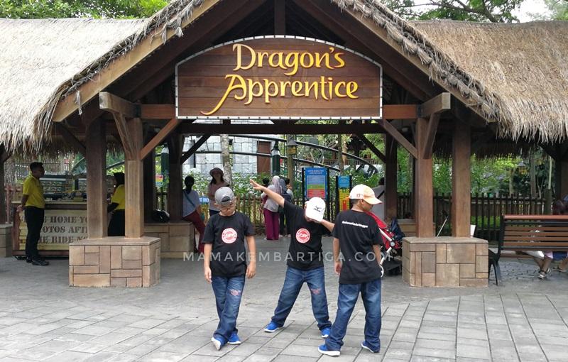 Legoland Malaysia Dragon Apperantice