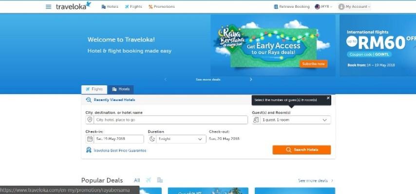 promosi Raya Bersama Traveloka