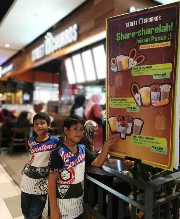 Street Churros Ramadan Combo