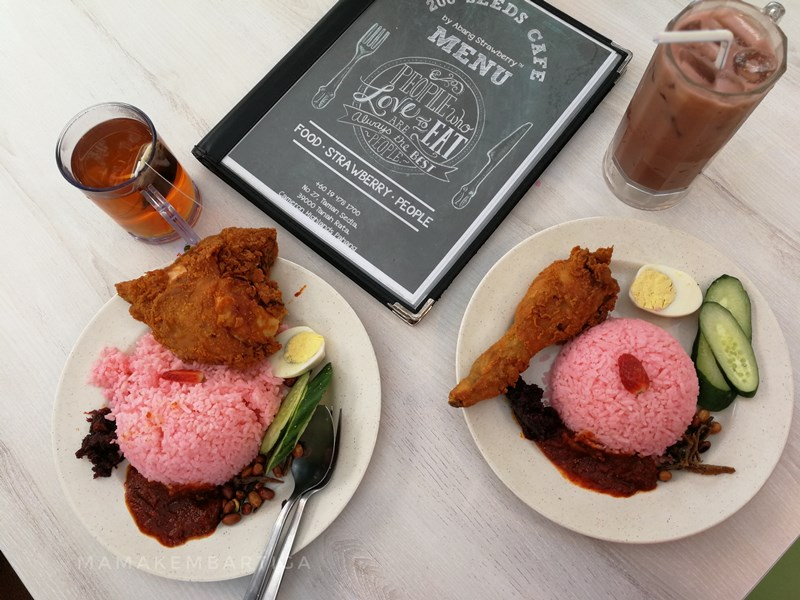 Nasi Lemak Sambal Strawberry 200 Seeds Cafe Cameron Highlands