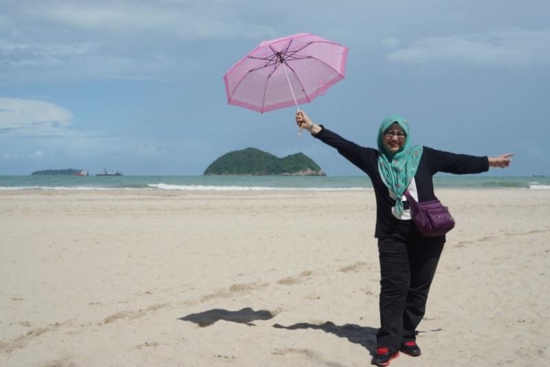 bercuti ke Hatyai Samila Beach Songkhla