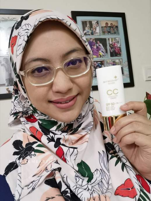review Hansaegee Nature Gold Nano CC Cream