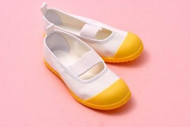 上靴のアレンジ、子供靴の可愛いデコやデザインや材料や作り方