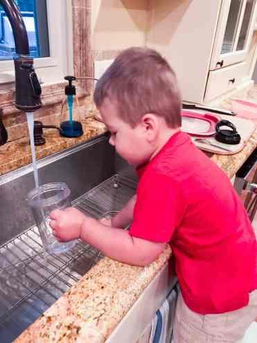 Toddler Help in Kitchen (2 of 13)