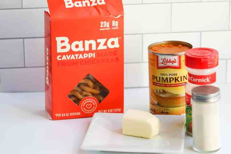 Healthy Pumpkin Pasta for Toddlers