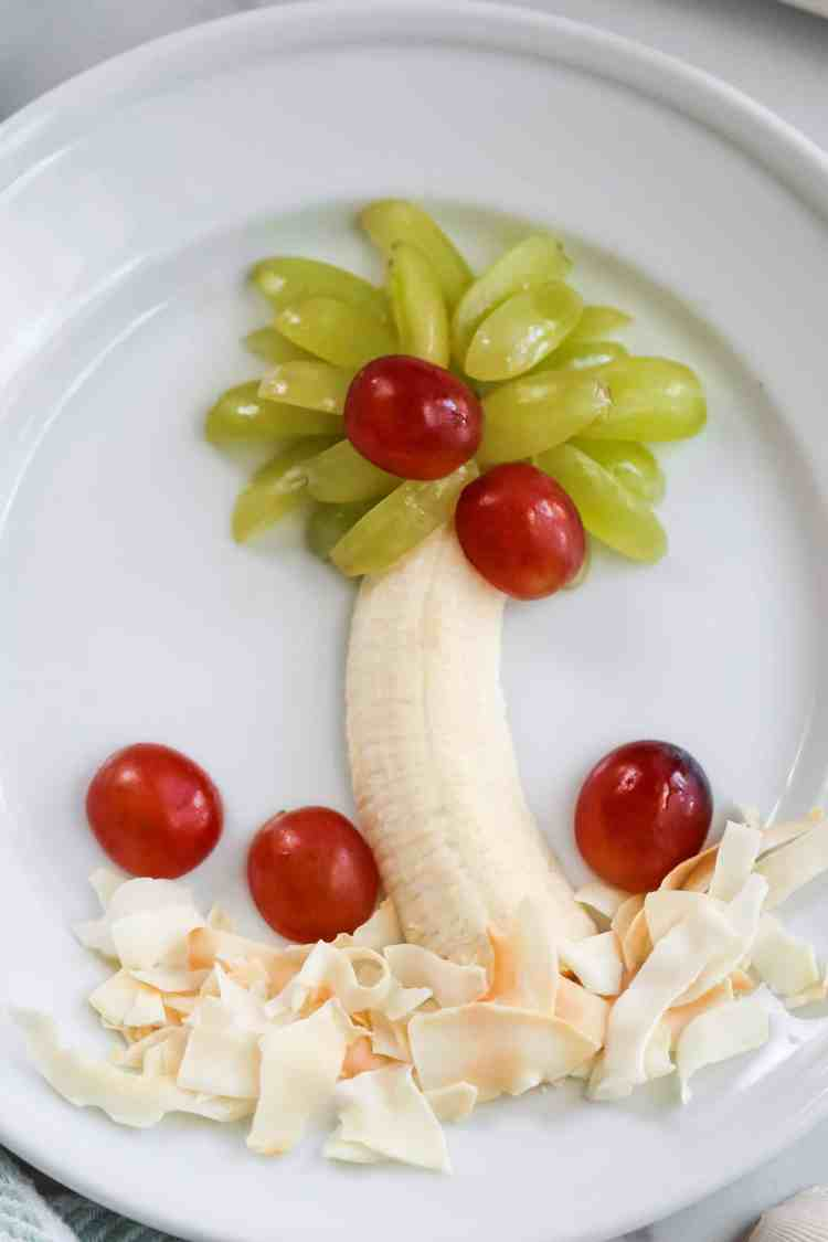 grape palm tree snack