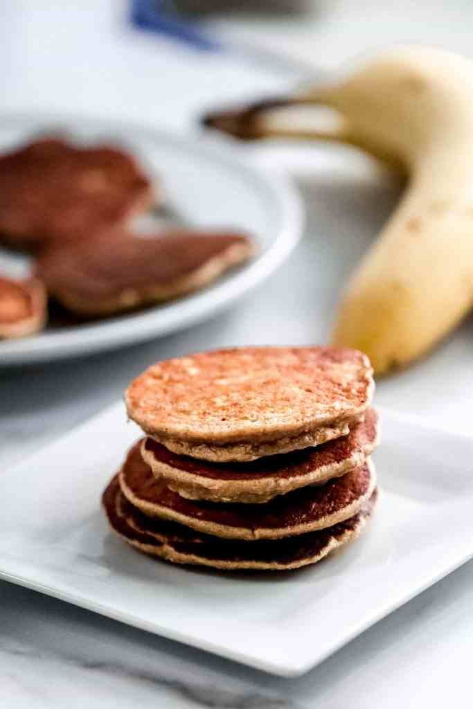 Banana Oat Pancakes for Babies
