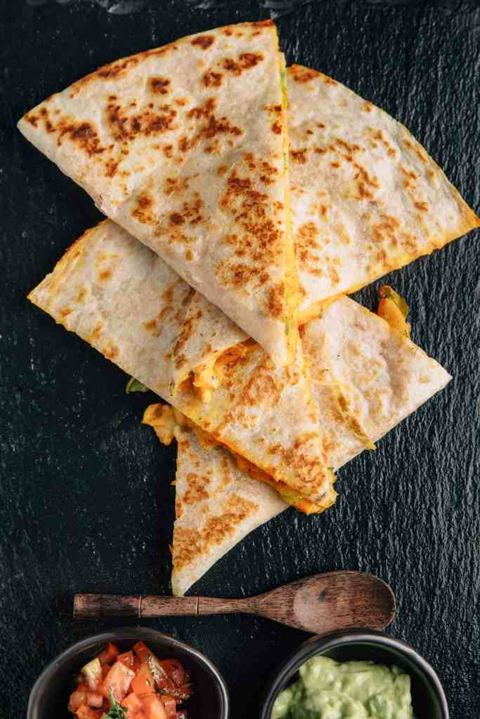 chicken and cheese quesadilla for toddler to get your toddler to eat meat