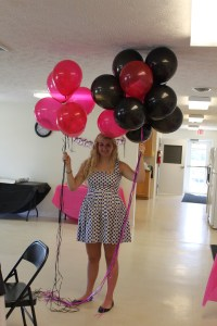 DIY Baby Shower Decorations: Zebra & Hot Pink | Mama Knows ...