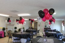Pink and Zebra Baby Shower Decorations