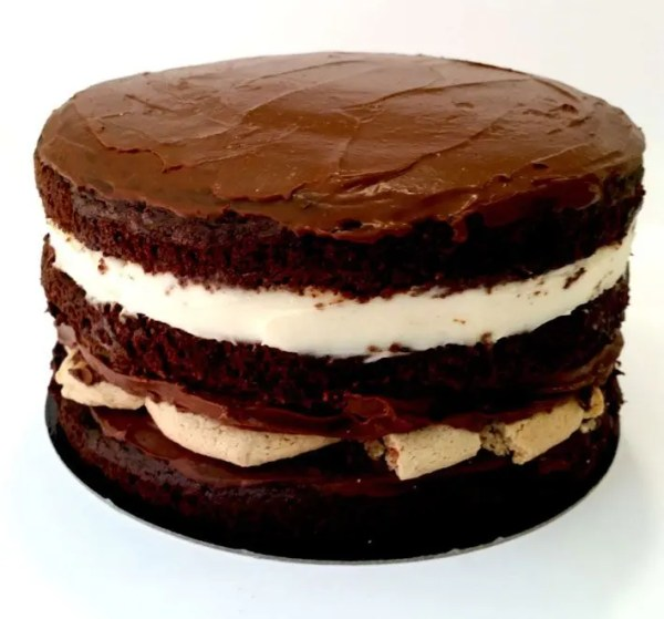Tarta de Chocolate y Cookies
