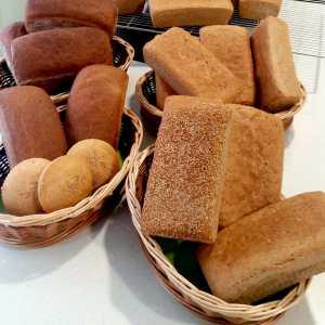 Pan sin gluten, Desayunos