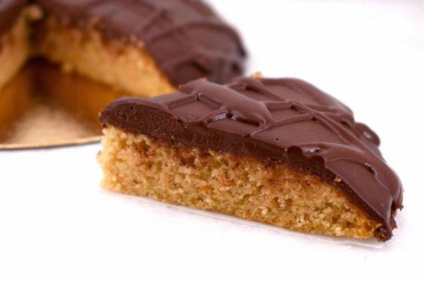 Tarta de Almíbar y Chocolate detalle