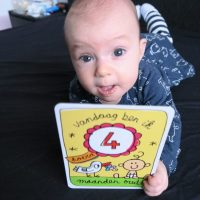 Kyra is 4 maanden oud!