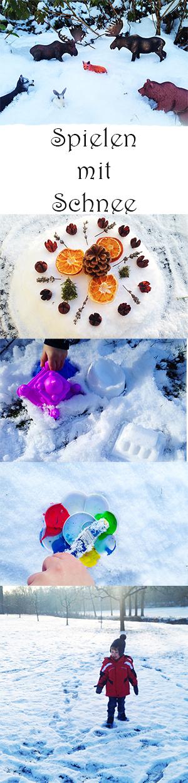 10 tolle Ideen zum Spielen mit Schnee im Winter für Kinder