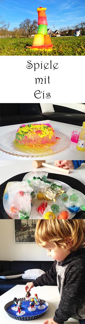 Spiele mit Eis für Kinder