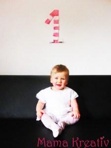 Emelie feiert ersten Geburtstag