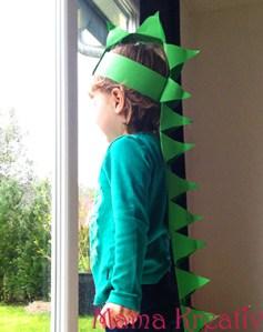 Dino-Kostüm selber machen