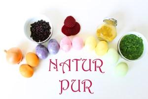 Natur pur: Eier mit Naturfarben färben +Video
