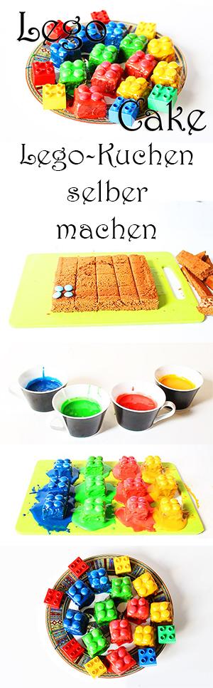 Lego Kuchen selber machen rezept