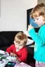 Malen mit kindern wasserfarben
