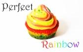 Regenbogen cupcakes, regenbogen muffins, frosting, regenbogenkuchen, rezept, anleitung, tutorial, rainbow cake