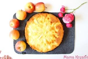 Apfeltraum – ein saftiger Apfelkuchen mit Schmandguss