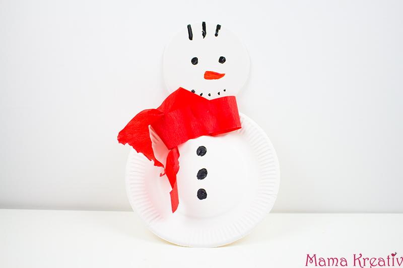Weihnachtsbasteln Mit Papptellern Mama Kreativ