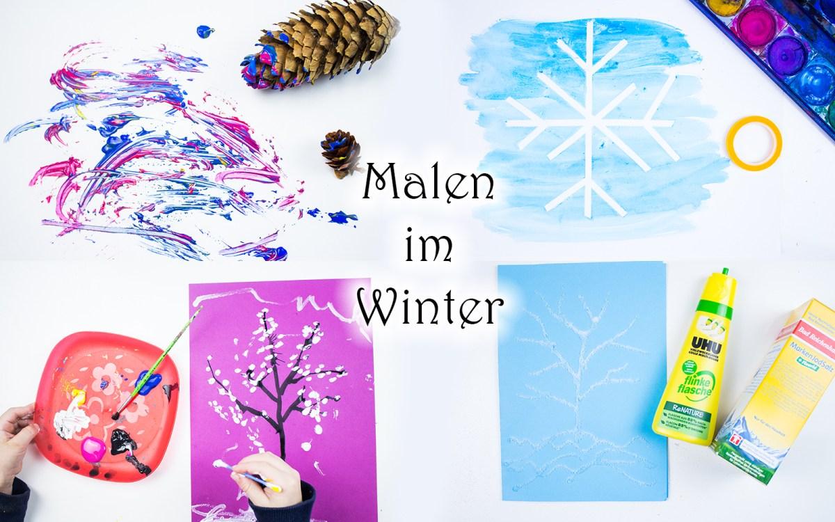 5 Ideen zum Malen mit Wasserfarben für Kinder +Video — Mama Kreativ