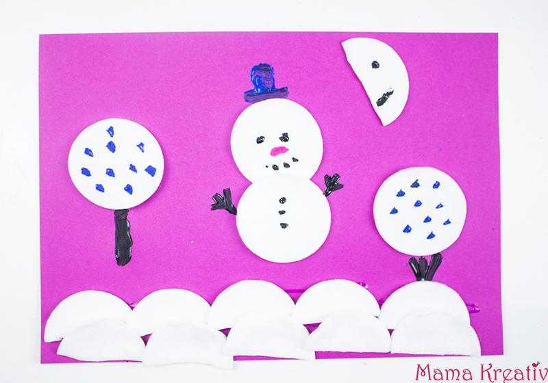 6 Ideen Zum Malen Im Winter Mit Kindern Video Mama Kreativ