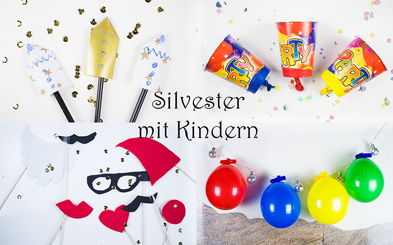 silvester mit kindern 4 kreative ideen f r party stimmung mama kreativ. Black Bedroom Furniture Sets. Home Design Ideas