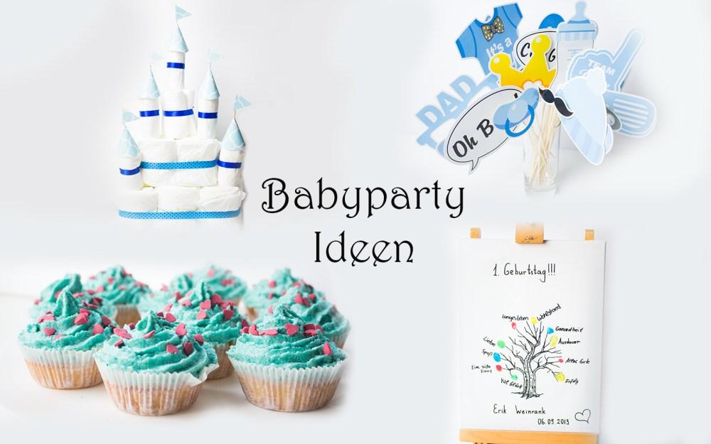 Alles für eine Babyparty: Windeltorte, Spiele, Deko, Inspiration