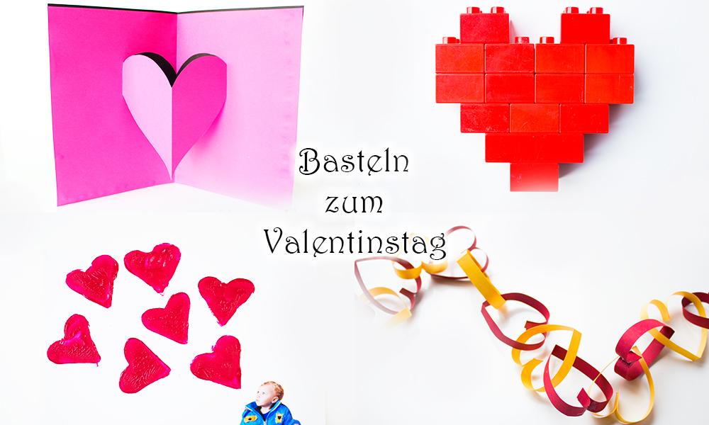 Basteln mit Kindern zum Valentinstag ♥