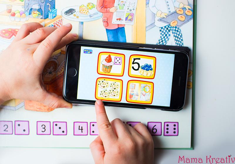 Buchstaben und Zahlen mit Kindern lernen buch bücher app carlsen clever (11)