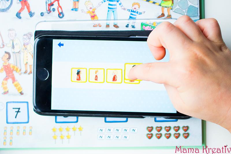Buchstaben und Zahlen mit Kindern lernen buch bücher app carlsen clever (25)