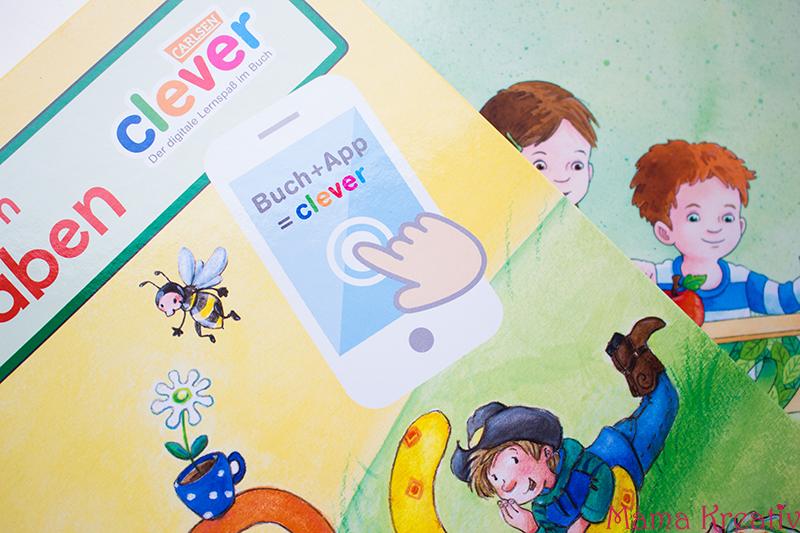 Buchstaben und Zahlen mit Kindern lernen buch bücher app carlsen clever (4)