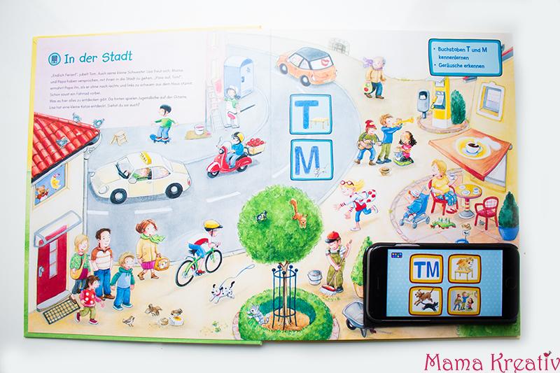 Buchstaben und Zahlen mit Kindern lernen buch bücher app carlsen clever (56)