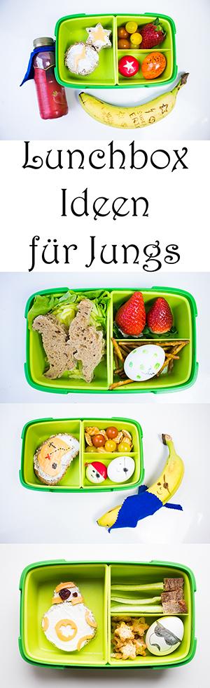 Lunchbox Ideen für Jungs. Schulbrot für Kinder