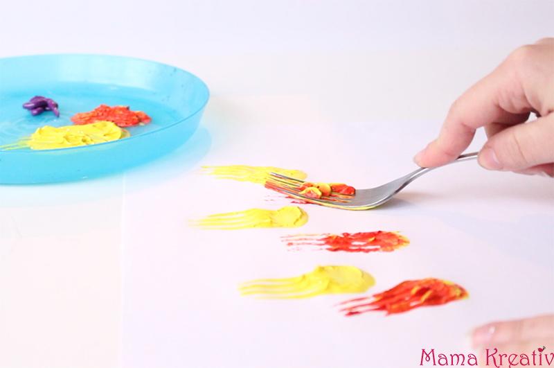 Malen im Frühling mit Kindern (3)