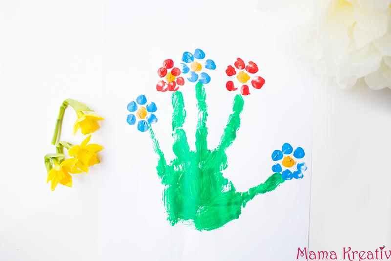 Handabdruck Bilder Ideen.12 Ideen Zum Malen Im Frühling Mit Kindern Mama Kreativ