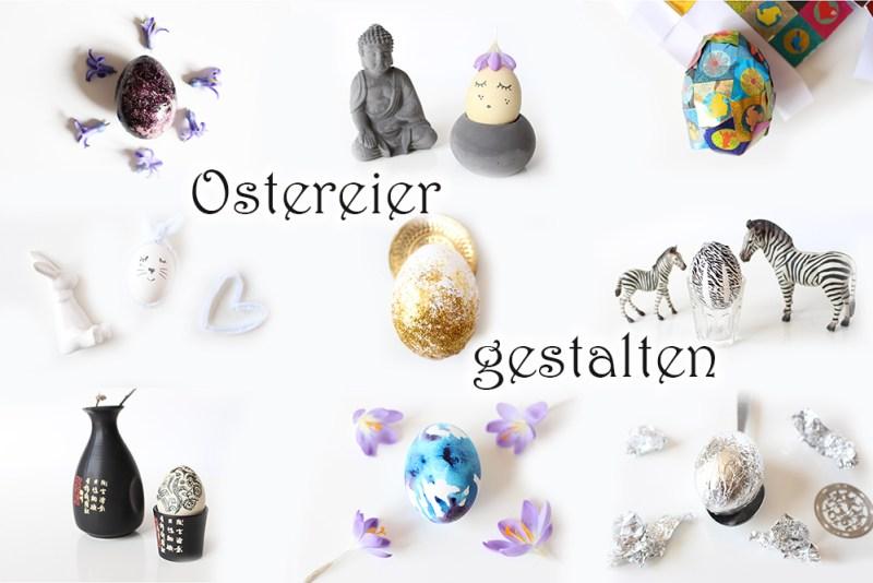 Ostereier gestalten 10 kreative Ideen