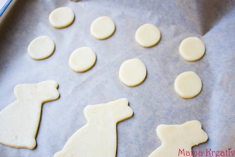 Süße Osterhasen Kekse Plätzchen backen rezept schnell einfach (3)