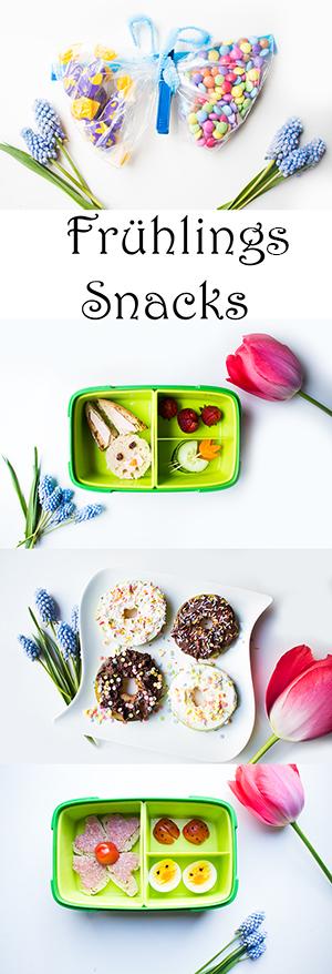 Snacks und Lunchbox Ideen für Kinder im Frühling