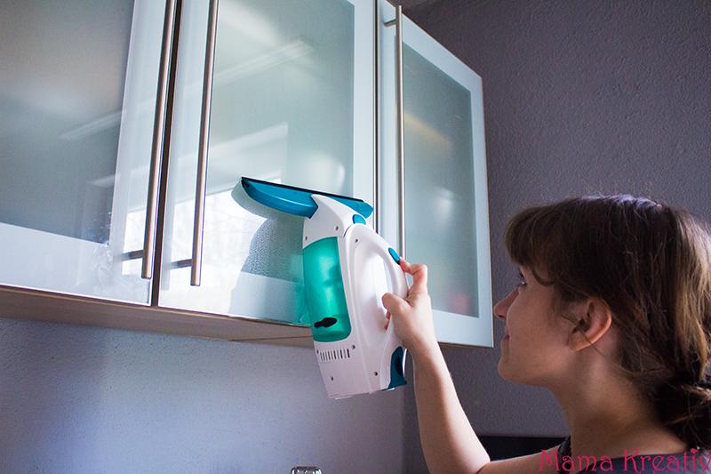 Frühjahrsputz mit Fenstersauger Dry&Clean von Leifheit