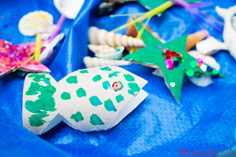 Spielen mit Kindern Ozean im Garten basteln (18)