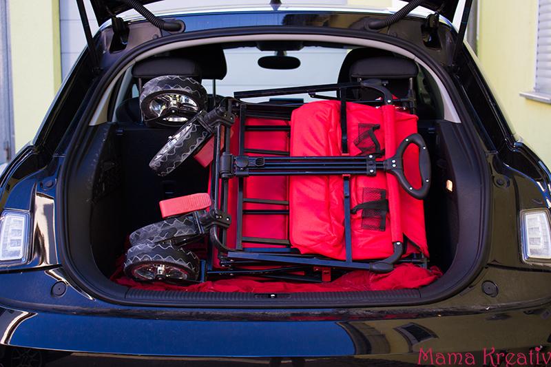 FUXTEC Bollerwagen mit Sonnendach Test Erfahrung Erfahrungsbericht (23)
