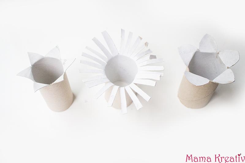 6 kreative Spiele mit Klopapierrollen basteln — Mama Kreativ