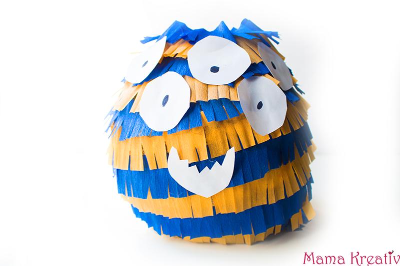 Monster Geburtstag: Spiele, Deko und Rezepte für Kinder Pinata selber machen